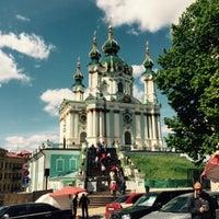 Снимок сделан в Андреевская церковь пользователем Людмила М. 5/16/2015