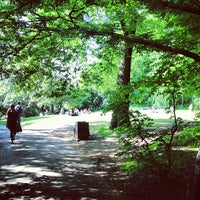 Photo taken at Holland Park by Denis N. on 6/2/2013