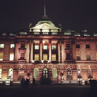 Photo taken at Somerset House by Denis N. on 1/25/2013