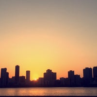 Photo taken at Corniche, Sharjah by Zehra B. on 9/9/2015