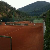 Photo taken at Kaya Thermal Tenis Kortları by Çağdaş Ş. on 10/3/2016