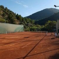 Photo taken at Kaya Thermal Tenis Kortları by Çağdaş Ş. on 10/7/2016