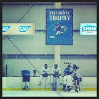 Photo taken at Sharks Ice- South Rink by Menna M. on 9/3/2013