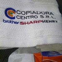 Photo taken at Copiadora Centro S.R.L by Milciades R. on 3/21/2014