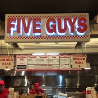 Photo taken at Five Guys by Hamad A. on 10/7/2014
