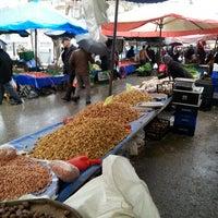 Photo taken at Salı Pazarı by Hakan G. on 3/11/2014