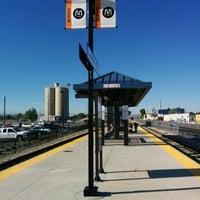 Photo taken at UTA FrontRunner Murray Station by Dean G. on 5/17/2014