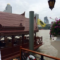 Photo taken at Wat Suwan Cross River Ferry Pier by Valeria S. on 10/7/2014