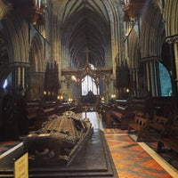 Photo taken at Worcester Cathedral Tower by Flavia D. on 2/5/2016