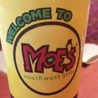 Photo taken at Moe's Southwest Grill by John M. on 10/2/2014