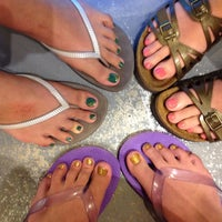 Photo taken at Jennie Nail & Spa by Elisabeth S. on 6/19/2014