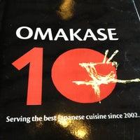 Photo taken at Omakase by Carmina M. on 3/28/2013