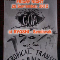 Photo taken at Ryoshi Japanese Restaurant by TROPICAL TRANSIT RADIO on 9/27/2012