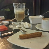 Photo taken at Aprilia Coffee and Pastry by Satria A. on 1/30/2015