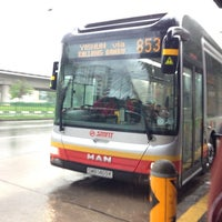 Photo taken at SMRT Buses: Bus 853 by Stewart Y. on 11/26/2014