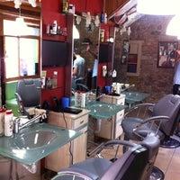 Photo taken at Essa kuafor salonu by Onur A. on 7/8/2014