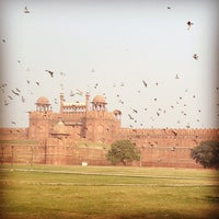 Photo taken at Red Fort (Lal Qila) by Difei 6. on 1/17/2013