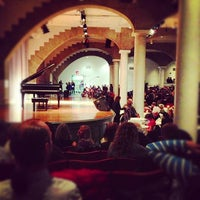 Photo taken at Cooper Union Great Hall by Adam on 11/15/2012