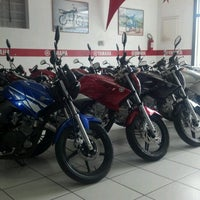 Photo taken at Adreense Motos Yamaha by Clarissa on 11/3/2012