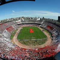 "Photo taken at Estadio Antonio Vespucio Liberti ""Monumental"" (Club Atlético River Plate) by Visit Argentina on 7/1/2013"