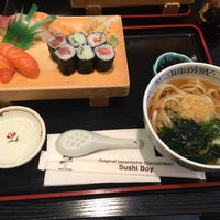 Photo taken at Sushi Boy by Judy Y. on 6/21/2014