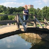 Photo taken at Большой пруд by Tatiana S. on 6/18/2018