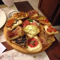 Photo taken at Bar Trattoria Sole by Matteo M. on 10/9/2013