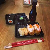 Photo taken at Sushi Sushi by Ohn R. on 6/21/2014