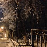Photo taken at Сквер на улице Кирова by Anton V. on 11/26/2013