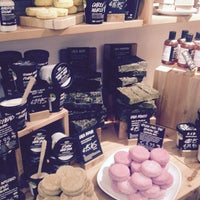 Photo taken at LUSH by Emma D. on 2/9/2015