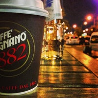 Photo taken at Cafe Vergnano 1882 by Rashid A. on 12/30/2012