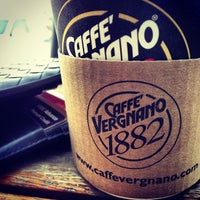 Photo taken at Cafe Vergnano 1882 by Rashid A. on 12/5/2012