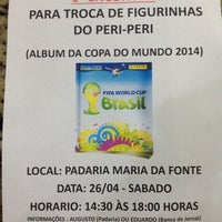 Photo taken at Pães e Doces Maria da Fonte by Augusto F. on 4/15/2014