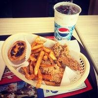 Photo taken at KFC 肯德基 中壢店 by Sam L. on 1/16/2014