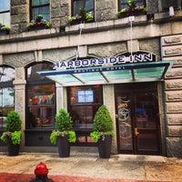 Photo taken at Harborside Inn by Nathan R. on 7/14/2013