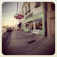 Photo taken at Creole Creamery by Donovan F. on 3/18/2013