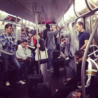 Photo taken at MTA Subway - Q Train by Jeffrey J. on 5/18/2013