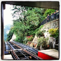 Photo taken at Peak Tram Upper Terminus by Abdullah Y. on 12/15/2012