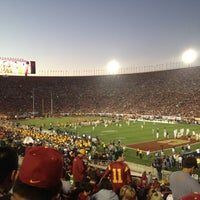 Photo taken at Los Angeles Memorial Coliseum by Danny G. on 11/25/2012
