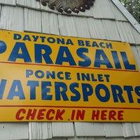 Photo taken at Daytona Beach Parasail by Kareem N. on 5/31/2014