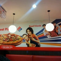 Photo taken at Domino's Pizza by Alia A. on 1/28/2013