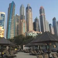 Photo taken at The Westin Dubai Mina Seyahi Beach Resort & Marina by Kathi M. on 4/28/2017