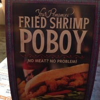Photo taken at VooDoo BBQ & Grill Uptown by Bethany C. on 2/13/2013