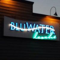 Photo taken at BluWater Bistro Leschi by Bryan B. on 7/8/2014