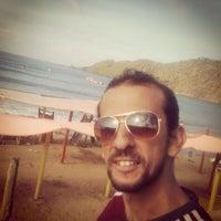 Photo taken at Playa Puerto Francés by Camo B. on 2/22/2014