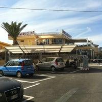 Photo taken at Cafe La Rotonda by Lorenzo on 5/1/2014