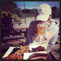 Photo taken at Townline BBQ by Mary I. on 9/30/2013