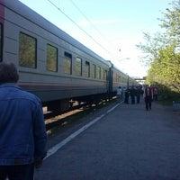 Photo taken at травка У Рельсов by лешик в. on 6/4/2014