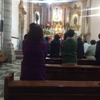Photo taken at Templo de San Francisco by Irving S. on 2/24/2017
