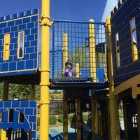 Photo taken at Zachary's Playground - Hawk Ridge Park by Dan B. on 8/21/2015